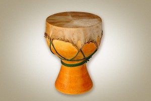 Wooden drum, small